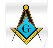 freemason symbol Poster