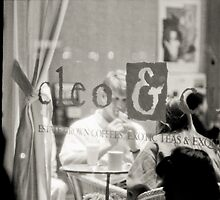 Cleo Cafe Couple by Kory Trapane