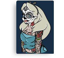 Bad Alice - Malice On Contraband Canvas Print