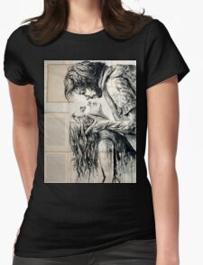 The fury of love Womens Fitted T-Shirt