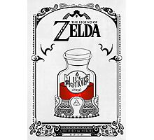 Zelda legend Red potion Photographic Print