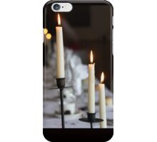 Candles at Dinner iPhone Case/Skin