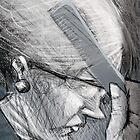 Elderly woman  by Mauricio Pommella