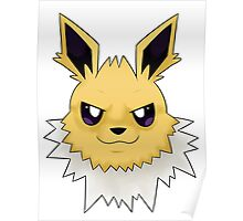 Wild Jolteon Pokemon Poster