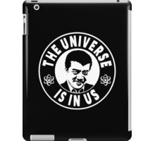 The Universe Is In Us - Neil DeGrasse Tyson  iPad Case/Skin