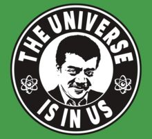 The Universe Is In Us - Neil DeGrasse Tyson  One Piece - Short Sleeve