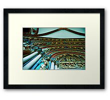 Untilted Framed Print