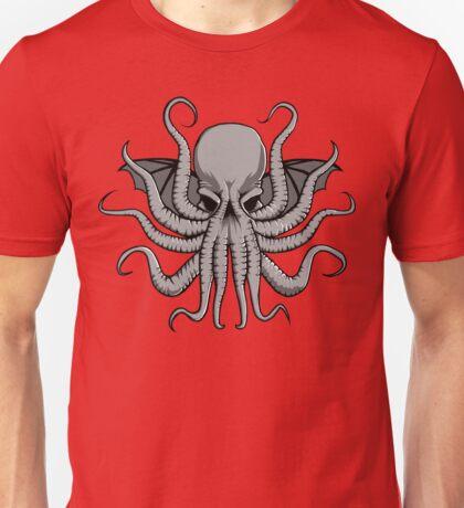Grey Chtulhu Unisex T-Shirt