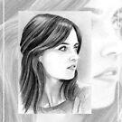 Jenna Coleman miniature by wu-wei