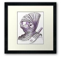 Star Wars Mon Calamari Pirate Framed Print