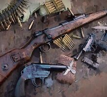 WW2 German Small Arms Drip by xanwuzhere