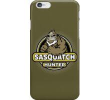 Sasquatch Hunter iPhone Case/Skin