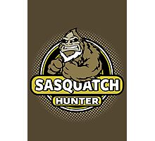 Sasquatch Hunter Photographic Print