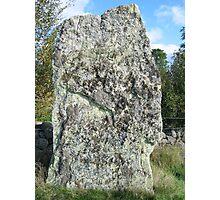 Iron Age Standing Stone Photographic Print