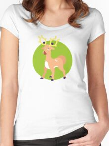Stantler - 2nd Gen Women's Fitted Scoop T-Shirt