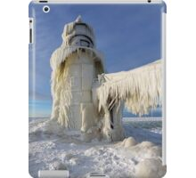 St. Joseph Lighthouse in Winter iPad Case/Skin