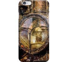 Headlight Of The Vintage Steam Train iPhone Case/Skin