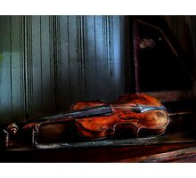 Final Stage For The One String Violin Photographic Print