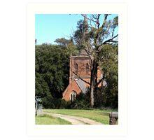 St Pauls Anglican Church, Carcoar, NSW Art Print