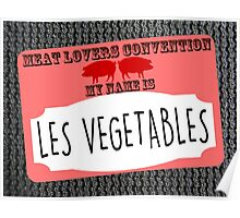 Ron Swan.....Les Vegetables Poster