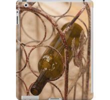bottle of wine iPad Case/Skin