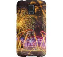 Fireworks on Clifton Suspension Bridge, Bristol Samsung Galaxy Case/Skin