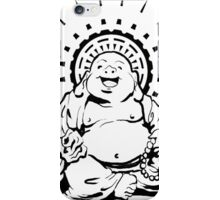 Sunburst Happy Buddha iPhone Case/Skin