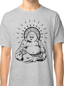 Sunburst Happy Buddha Classic T-Shirt