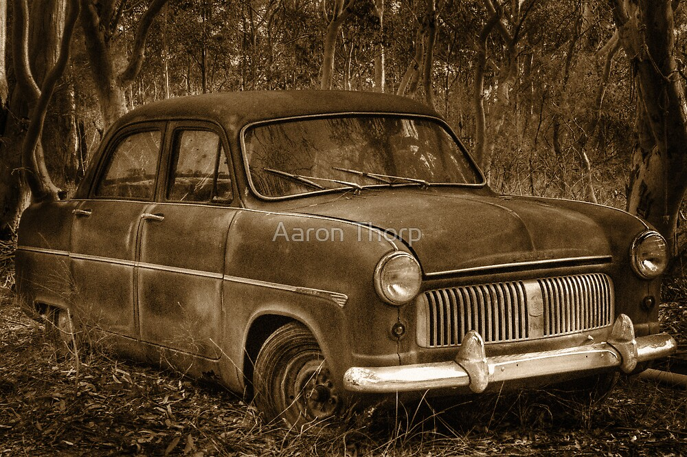 Ford Consul - Rusting Beauty by Aaron Thorp
