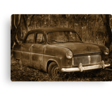 Ford Consul - Rusting Beauty Canvas Print