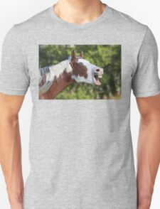 Funny Horse Face Unisex T-Shirt