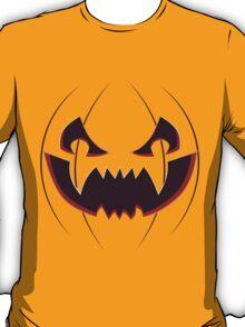 Scary Pumpkin Face T-Shirt