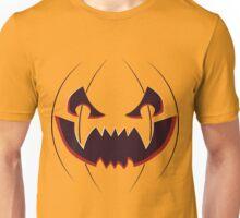 Scary Pumpkin Face Unisex T-Shirt