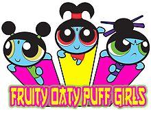 Fruity Oaty Puff Girls by Michi Donaho