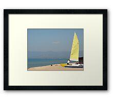 Lake Malawi Framed Print