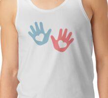 Baby hands hearts Tank Top