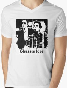 Shassie love Mens V-Neck T-Shirt