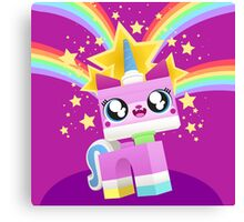 Princess Unikitty YAY! Canvas Print