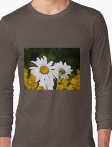 Chamomiles in the garden 2 Long Sleeve T-Shirt