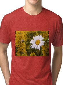 Chamomiles in the garden 3 Tri-blend T-Shirt