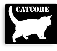 HXC (Fat) Catcore Canvas Print