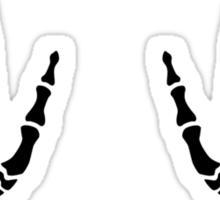 Skeleton hands finger Sticker