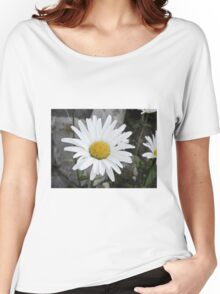 Chamomiles in the garden 4 Women's Relaxed Fit T-Shirt