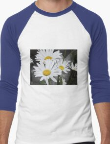 Chamomiles in the garden 5 Men's Baseball ¾ T-Shirt