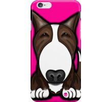 Brown Patch English Bull Terrier iPhone Case/Skin