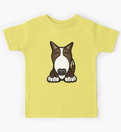 Brown Patch English Bull Terrier Kids Tee