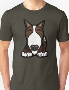 Brown Patch English Bull Terrier T-Shirt