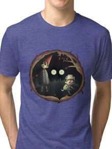 Over the Garden Wall - Beware the Unknown Tri-blend T-Shirt