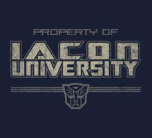 Property of Iacon University by justinglen75