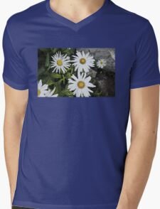 Chamomiles in the garden 9 Mens V-Neck T-Shirt